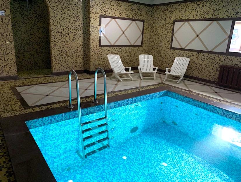 бассейн банного комплекса «Ильинские Бани»