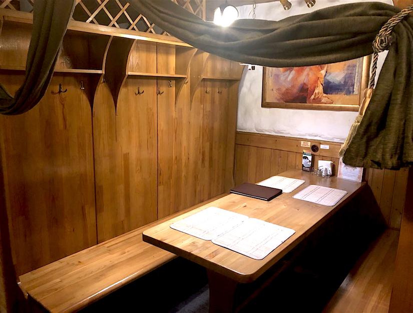 кабинки для отдыха в Ильинских Банях
